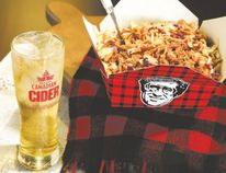 Harvest Cider Poutine marries Smoke's Poutinerie with Molson Canadian Cider for a refreshing — maybe even patriotic — treat.