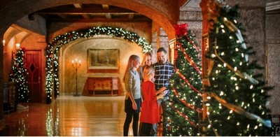 The Fairmont Banff Springs Hotel in Alberta puts on fantastic Christmas displays each year. PHOTO COURTESY FAIRMONT BANFF SPRINGS