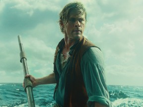 """Chris Hemsworth in """"In the Heart of the Sea."""""""
