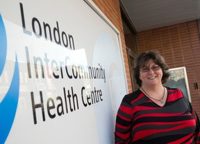 Michelle Hurtubise, executive director of the London InterCommunity Health Centre, is leaving the Dundas Street health care centre after 13 years. Craig Glover/The London Free Press/Postmedia Network