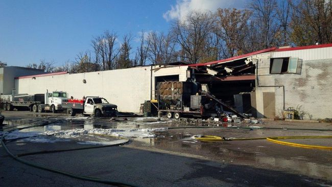 One person died in an explosion at Veolia Environmental Services in Sarnia. (Photo courtesy of Sarnia Fire Rescue Service file photo)