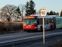 Bus drivers too fast on Transitway: TSB