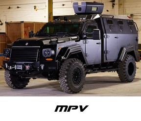 Winnipeg police are set to add an armoured vehicle to their fleet.