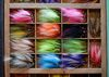 In this April 4, 2015, file photo, handmade flies are displayed at Jones Fly Company in the East Nashville area of Nashville, Tenn. East Nashville houses an eclectic collection of restaurants, bars, coffee shops, bakeries and stores, mixed into a residential area of 1950s and 1960s homes. (AP Photo/Mark Humphrey, File)