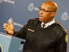 Toronto Police Chief Mark Saunders said he's waiting for the outcome of eight UberX court cases so he'll have a better idea of what's required of the force to crack down on the ridesharing service. (Dave Thomas/Toronto Sun/Postmedia Network).