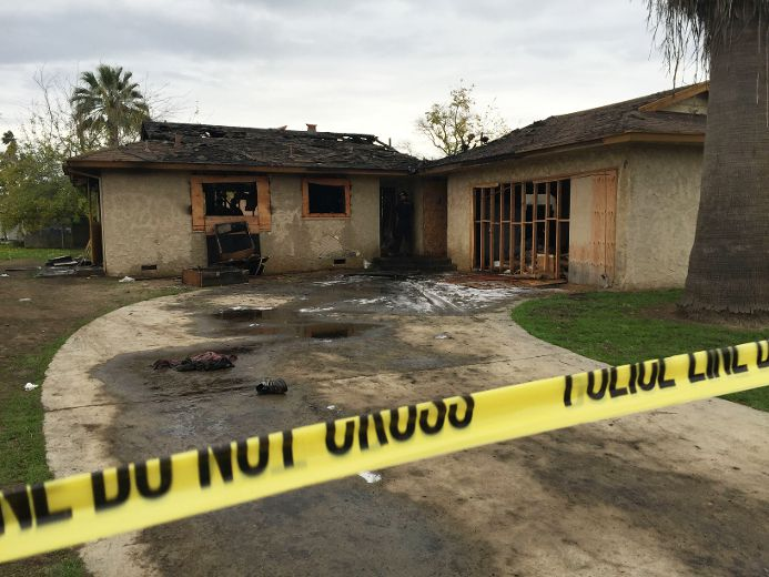 5 People Die In Abandoned House Fire In California The