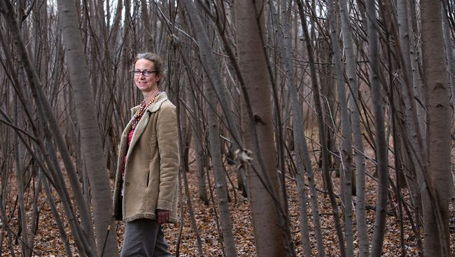 Sara Rowland is an urban forest planner in London. Derek Ruttan/The London Free Press/Postmedia Network