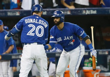 Expectations are high for the 2016 Toronto Blue Jays, coming off their first playoff appearance in 22 years, advancing to the American League Championship Series but losing to the eventual World Series champion Kansas City Royals. Third baseman Josh Donaldson and right fielder Jose Bautista help launch the Blue Jays' season on April 3 on the road against the Tampa Bay Rays. (Stan Behal/Postmedia Network)