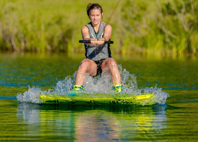 <p>Bainsville's Mackayla Petrie was a silver medalist, competing in Portugal at the Wakeboard World Championship.Handout/Cornwall Standard-Freeholder/Postmedia Network