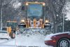 A snow plow removes snow in Winnipeg. (FILE PHOTO)