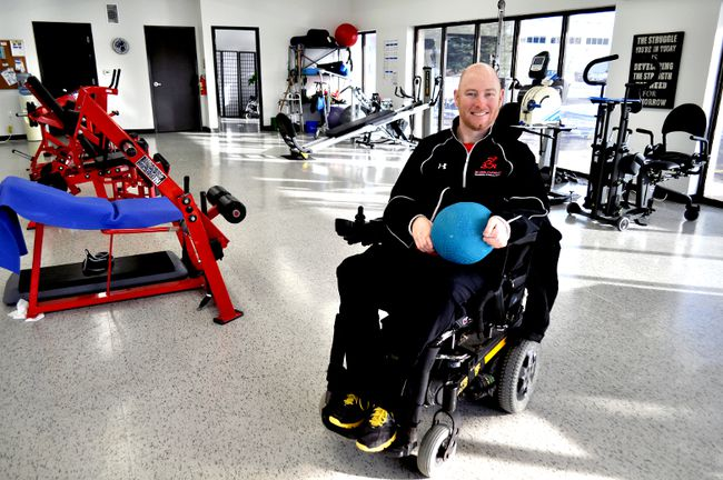 Mike Mulligan, founder and owner of Moving Forward, at his London-based rehabilitation centre January 6, 2016. CHRIS MONTANINI\LONDONER\POSTMEDIA NETWORK