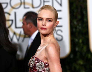 Actress Kate Bosworth arrives at the 73rd Golden Globe Awards in Beverly Hills, California January 10, 2016.  REUTERS/Mario Anzuoni