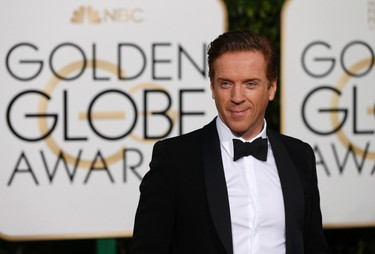 British actor Damien Lewis arrives at the 73rd Golden Globe Awards in Beverly Hills, California January 10, 2016.  REUTERS/Mario Anzuoni