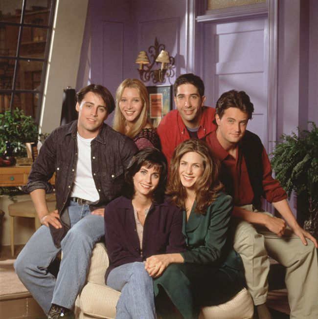 The cast of NBC's Friends. (Handout photo)