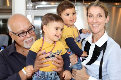 Celine Dion and Rene Angelil with their sons Eddy and Nelson. (Postmedia Network file photo)