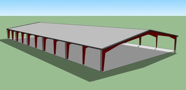 The Rotary Park Revitalization Committee has submitted this artist's concept of a proposed roof over the Rotary pad. (SUBMITTED)