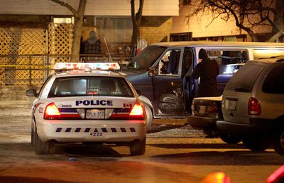 One man was killed in a shooting at Morecambe Gate, near Victoria Park and Finch Aves. on Jan 20, 2016. (John Hanley/Special to the Toronto Sun)