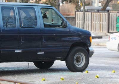 Alva Dixon was killed and another man was wounded when gunfire erupted in a TCHC townhouse complex parking lot in Scarborough Wednesday, Jan. 20, 2016. (CHRIS DOUCETTE/TORONTO SUN)