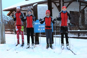 Vermilion Nordic skiers Samuel Ree, Sean Ulrich, Caleb Ree and Alexander McCullough will represent the Northeast Zone at the Alberta Winter Games in cross country skiing.