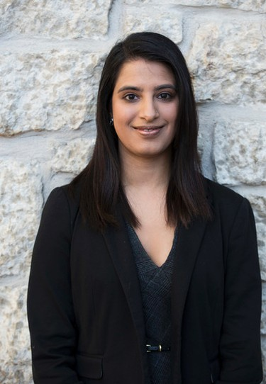 EDMONTON, AB.-- Danisha Bhallo is one of 32 people that filed papers on nomination day for people running in the Ward 12 byelection on January 25, 2016.  (Greg Southam)