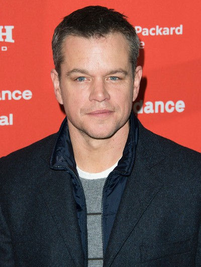 """Producer Matt Damon poses at the premiere of """"Manchester By The Sea"""" during the 2016 Sundance Film Festival on Saturday, Jan. 23, 2016, in Park City, Utah. (Photo by Arthur Mola/Invision/AP)"""