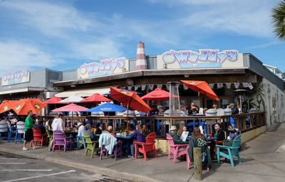 O'Maddy's is a fun, casual spot in the Gulfport area of St. Petersburg. Try the blackened fish sandwich. JIM BYERS/Special to Postmedia Network