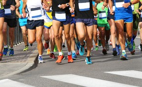 Runners are pictured in this file photo. (Fotolia Files)