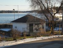 The Customs House property in the St. Lawrence River village of Rockport.
