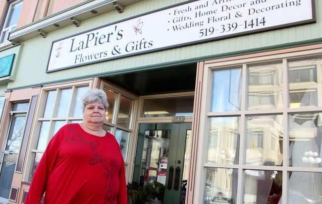 Sharon LaPier says the recent Rogers Hometown Hockey event in Sarnia proved bad for business. She's calling for better communication from city event organizers when it comes to happenings that cause downtown street closures. (Tyler Kula/Sarnia Observer/Postmedia Network)