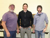 Return the Landscape's Larry Cornelius, Nick Alexander and Shawn McKnight provided a sneak peak of their upcoming book, 'How To' Return the Landscape, at Lambton Wildlife's monthly meeting on Jan. 25. CARL HNATYSHYN/SARNIA THIS WEEK