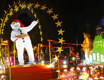 The night parades are a great way to celebrate the largest winter carnival in the world. QUEBEC CARNIVAL PHOTO