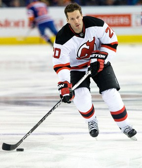 Ex-Leaf Lee Stempniak is tied with Mike Cammalleri for the Devils' points lead. (DAVID BLOOM/Postmedia Network files)