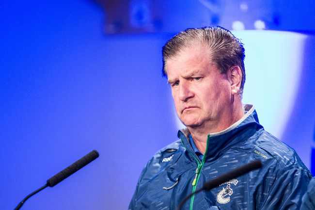 Canucks GM Jim Benning.