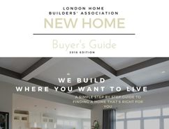 The New Home Buyers Guide, compiled by members of the London Home Builders' Association, is a handy reference if you're buying your first home or contemplating a move.