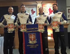 Team Gushue is ready for another run at the Brier. Supplied