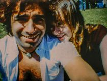 Jian Ghomeshi and Lucy DeCoutere