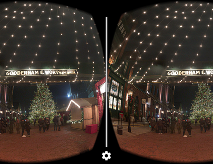 The Distillery District: One of our fave spots to explore using Google Cardboard.
