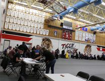 With all the venues for the 2016 Alberta Summer Games ready, games staff hosted an event to introduce all the sport chairs and venue managers to each other. Eleven of the 14 events will be at the LRC, John Bole Field and William F. Lede Park. Nouran Abdellatif/Rep Staff