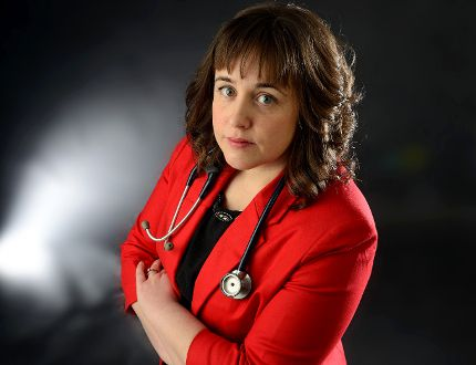 Neurologist Maria MacDonald is agonizing over staying in her field because she might have to refer patients for assisted dying. (MORRIS LAMONT, The London Free Press)
