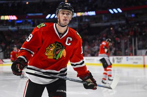 Chicago Blackhawks center Jonathan Toews. (MIKE DiNOVO/USA TODAY Sports)