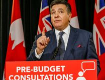 Ontario Finance Minister Charles Sousa launches pre-budget consultations news conference at St. Paul's Anglican Church on Bloor St. in Toronto, Ont. on Tuesday January 12, 2016. Dave Thomas/Toronto Sun/QMI Agency