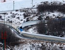 Bobsled track COP
