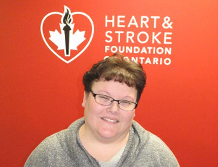 <p> Ashley Manwell, area co-ordinator for the Heart & Stroke Foundation, on Friday February 5, 2016 in Cornwall, Ont.</p><p> Todd Hambleton/Cornwall Standard-Freeholder/Postmedia Network