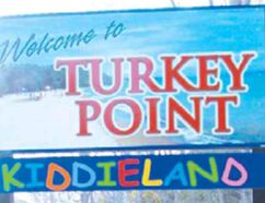 A 'Welcome to Turkey Point' sign. (Contributed photo)