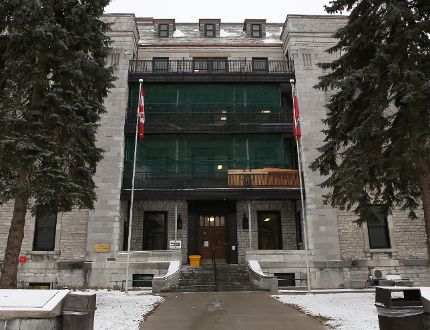 The old wing of Kingston General Hospital was used as the first Parliament for a united province of Canada in 1841. (Elliot Ferguson/The Whig-Standard)