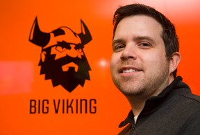 Greg Thomson co-founder of Big Viking Games in London. (Free Press file photo)
