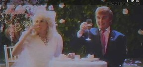 """Johnny Depp as Donald Trump in Funny or Die's """"The Art of the Deal."""""""