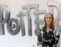 British author J.K. Rowling, creator of the Harry Potter series of books, poses during the launch of new online website Pottermore in London in this file photograph dated June 23, 2011. REUTERS/Suzanne Plunkett/files