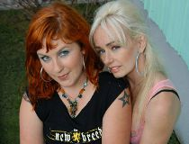 Sarah Dunsworth and Lucy DeCoutere