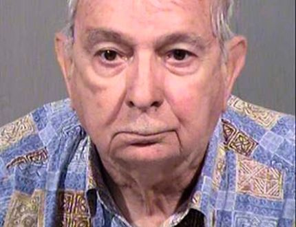 John Feit, 83, is shown in this Maricopa County Sheriff's Office (MCSO) photo tweeted after his arrest in Arizona on February 9, 2016. Feit, a former Catholic priest has been charged with a murder more than half a century ago where he is suspected of beating, raping and killing a 25-year-old beauty queen in south Texas shortly after taking her last confession, authorities said on February 10, 2016. REUTERS/MCSO/Handout via Reuters